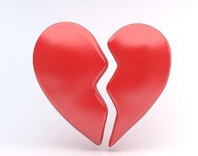 heart Broken 3D model