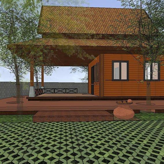 Tropical pavilion  version 2