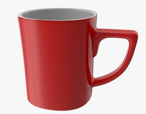 3D model game-ready PBR editable Coffee Cup