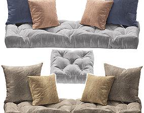 Seat pillow set 3 3D model
