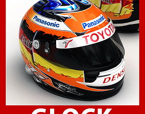3D Helmet F1 2009 Timo Glock