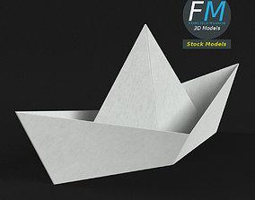 Paper boat 3D