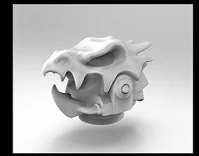 dragon space helmet 3D printable model