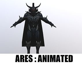 Ares Animated 3D model low-poly