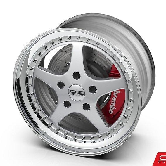 OZ Racing Mito Wheel - Stl - 3D Print Model - Sale  - emir çaklı