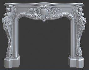 3D print model Fireplace 2