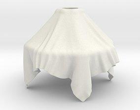 3D print model Cloth lamp