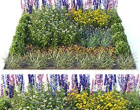 3D model Flowerbed 2