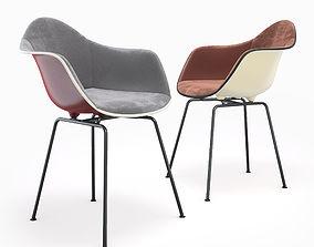 3D Eames Plastic Armchair DAX set