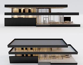 3D model Villa house 4