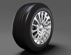 Toyota ProAce Van wheel 2017 3D