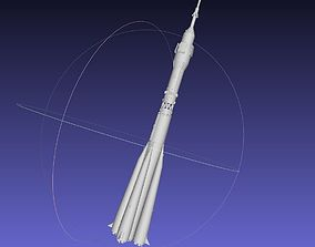 Soyuz Rocket Printable Model