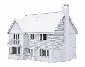 3D asset Neighborhood Houses P11