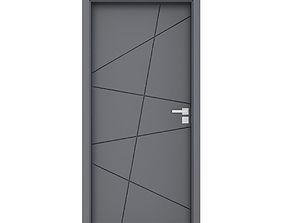 3D model Grey Door 2
