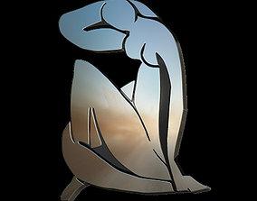 3D print model Nu Bleu II Matisse pendant
