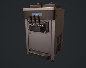 Ice Cream Machine Soft Serve 3D asset