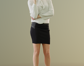 Ina 10044 - Standing Business Woman 3D model