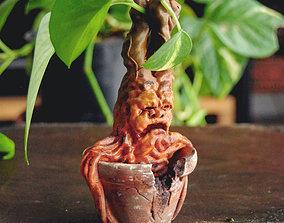 3D print model MANDRAKE PLANT - HARRY POTTER