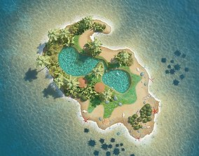 islands 3D Island Scene