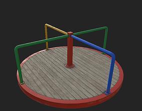 3D model Playground Carousel