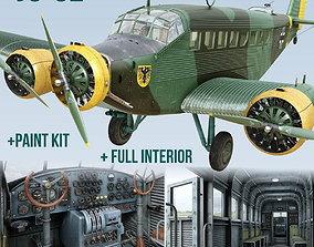 Junkers Ju-52 3D