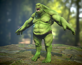3D asset Orc Ogre - Rigged Creature