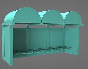 3D print model Bus Stop Miniature