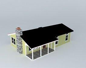 3D Ranch House