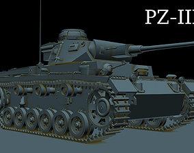 German PZ-III L 3D