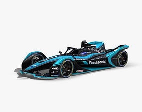 Jaguar Formula E 2020 3D model