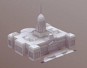 Congreso de la Nacion Argentina STL 3D printable model