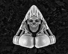 3D print model Boxing-pendant