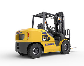 Forklift FH50 Komatsu 3D model