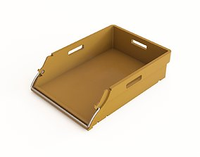 3D model Plastic crate 42