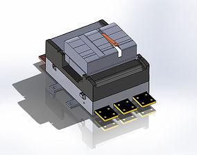 GE-Power Breaker II-3000 Amp 3D model