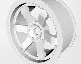 3D print model Drift rim