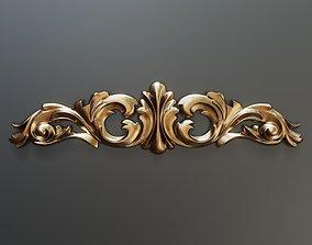 3D print model Classic baroque onlay element 024
