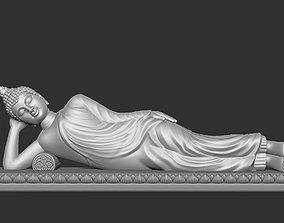 Asian Sleeping Buddha Statue 3D printable model