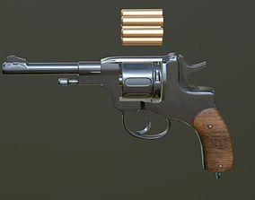 PISTOL M1895 3D asset