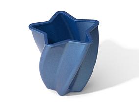 3D printable model Classic Attractive Star Vase vase