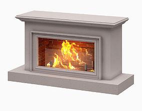 3D model Fireplace 002