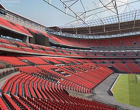 3D model Wembley Stadium