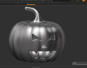 3D printable model halloween pumpkin 14
