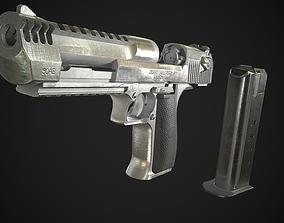 3D model Desert Eagle PBR Worn