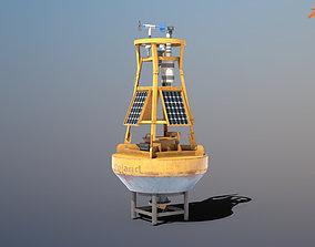 Weather Buoy - PBR 3D model