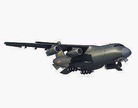 Y-20 China Transport Plane 3D