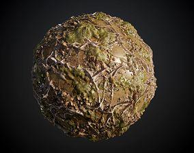 Moss Lake Seamless PBR Texture 3D