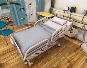 3D model Clinic - Hospital room