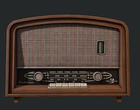 3D model realtime Vintage Radio