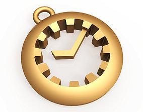 Watch pendant 3D printable model